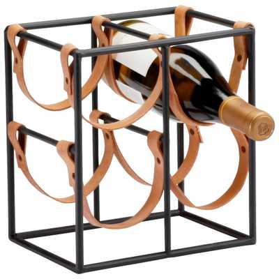 Small Brighton Wine Holder - Onyx Rowe