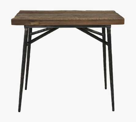 Winston Rectangular Reclaimed Wood End Table, Natural - Pottery Barn