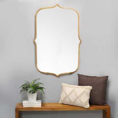 Portishead Metal Glam Accent Mirror - Wayfair