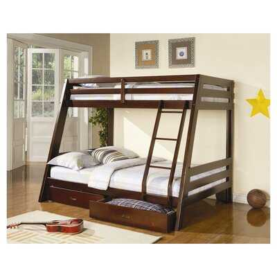 Mullin Twin Over Full Bunk Bed with Drawers - Wayfair