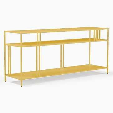 "Profile Collection Media Console, 55 "", Green Gold - West Elm"