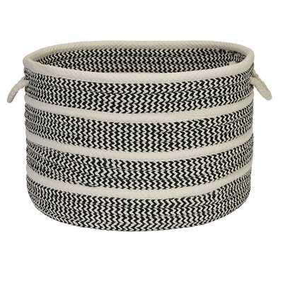 Banded Mix Fabric Basket - AllModern