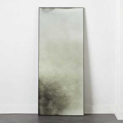 "Clooney Antiqued Floor Mirror 32""X76"" RESTOCK IN EARLY APRIL,2021 - CB2"