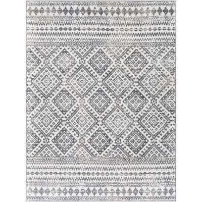 Lipson Geometric Ivory/Gray Area Rug - Wayfair