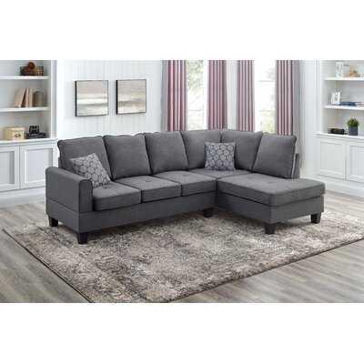 Aleinah 98'' Wide Right Hand Facing Sofa & Chaise - Wayfair