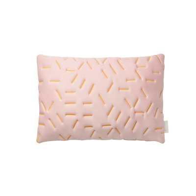 Splash Memory Standard Pillow Color: Nude/Yellow - Perigold