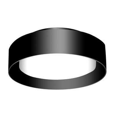 "Ellar 3 - Light 15.75"" Simple Drum Flush Mount - Wayfair"