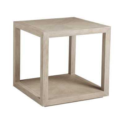 Artistica Home Cohesion Program End Table Color: White - Perigold