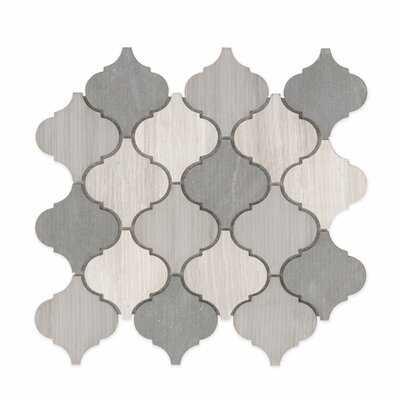 Villa Paz Natural Stone Mosaic Tile - Birch Lane
