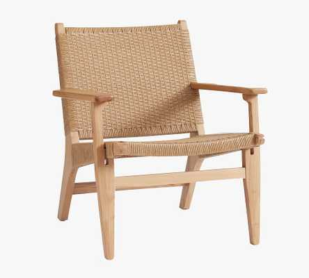 Woven Occasional Armchair - Pottery Barn