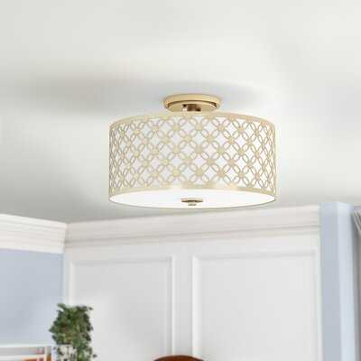Nielsen 3-Light Semi Flush Mount - Wayfair