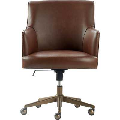 Belmont Home Office Chair Brown - Finch - Target