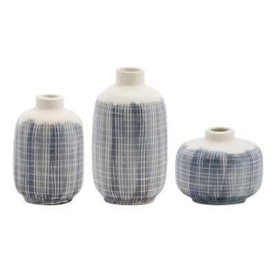 6 Piece Terracotta Table Vase Set - Wayfair