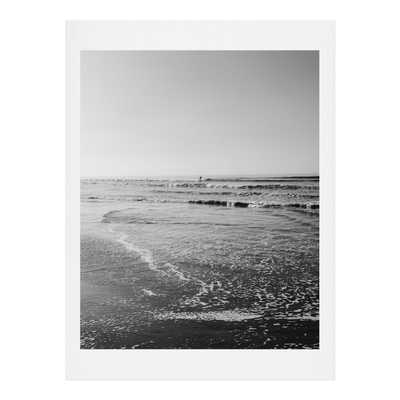"""Surfing Monochrome by Bethany Young Photography - Art Print 11"""" x 14"""" (Printed area 8x10) - Wander Print Co."""