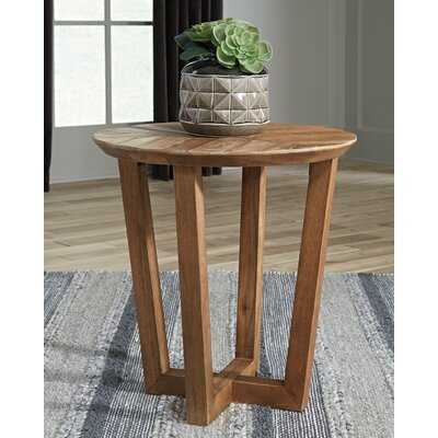 Paulis End Table - Wayfair