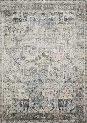 "Loloi Anastasia AF-20 Blue / Slate 9'-6"" x 13' - Loma Threads"