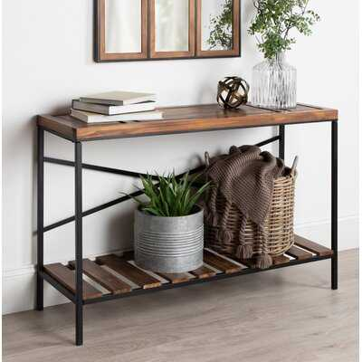 Shropshire Farmhouse Casual Console Table - Wayfair