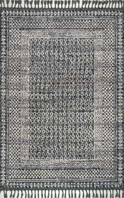 Claudia Diamond Tassel Rug Area Rug - Loom 23