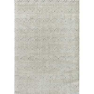 Chevron Ivory Area Rug - Wayfair