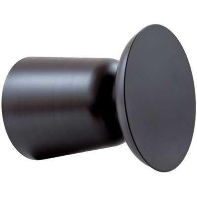 Fernando Modern Drum Stool Black - Poly & Bark - Target