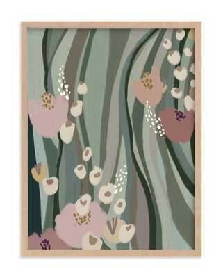 Riverside Flowers Art Print - Minted
