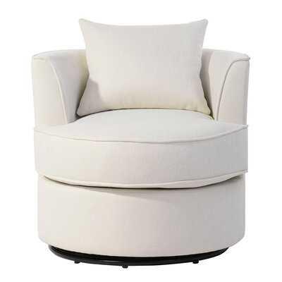 Amaryss Swivel Barrel Chair - Wayfair