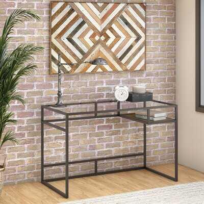 Turgeon Glass Desk - Wayfair