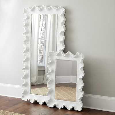 "Atoll Rectangular Mirror with Clear Glass Black 64"" x 30"" - Ballard Designs - Ballard Designs"