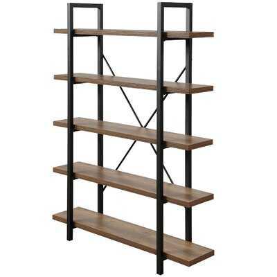 5-tier Industrial Bookcase - Wayfair