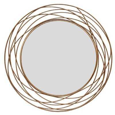 Czarnecki Swirl Accent Mirror - Wayfair
