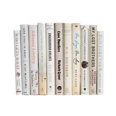 Booth & Williams Decorative Book Set Finish: Off White/Cream - Perigold
