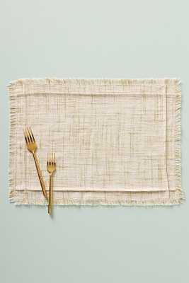 Juni Placemat By Anthropologie in White Size PLACEMAT - Anthropologie
