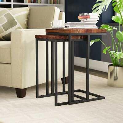 Lineberger 2 Piece Nesting Table Set - Wayfair