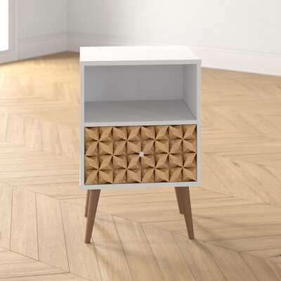 Hayward 1 - Drawer Solid Wood Nightstand - Wayfair