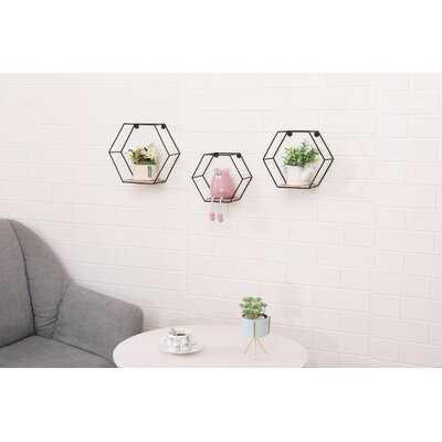 Tremblant Hexagon Floating Shelf - Wayfair