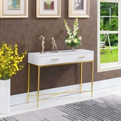 "Hettinger 42"" Console Table - Wayfair"