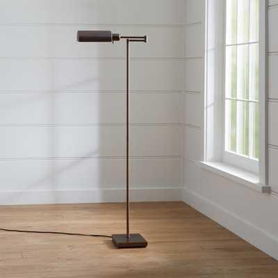 Adams Bronze Pharmacy Floor Lamp - Crate and Barrel