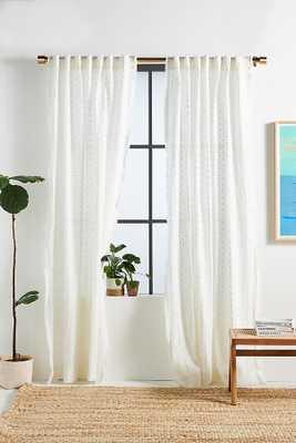 """Minna Curtain By Anthropologie in Beige Size 108"""" - Anthropologie"""