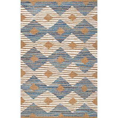 Goshen Southwestern Handmade Braided Ivory Area Rug - Wayfair