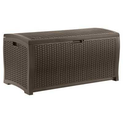 Java Wicker Outdoor 99 Gallon Resin Deck Box - AllModern