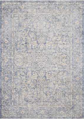 "Loloi Pandora PAN-01 Blue / Gold 9'-6"" x 12'-5"" - Loma Threads"