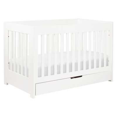 babyletto Mercer 3-in-1 Convertible Crib Color: White - Perigold