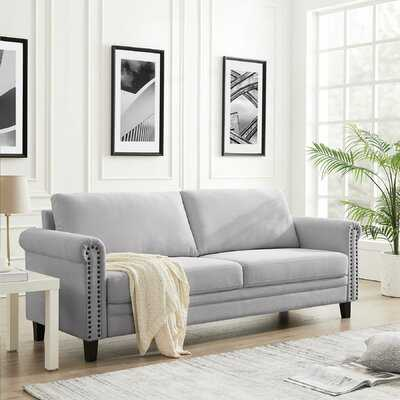 "Red Barrel Studio® 81.5"" Round Arms Sofa - Wayfair"