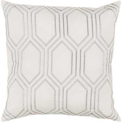 Senn Square Linen Pillow Cover & Insert - Wayfair