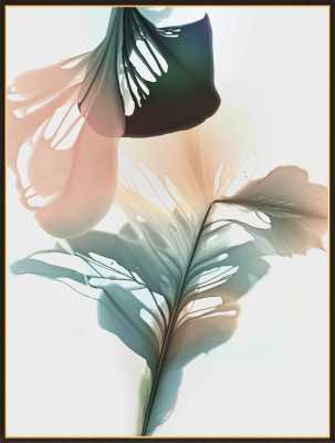 Abstract Flora Bloomland 32 by Marta Spendowska for Artfully Walls - Artfully Walls