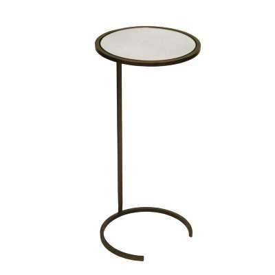 Worlds Away Cigar C End Table Color: Bronze - Perigold