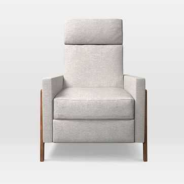 Spencer Recliner, Twill, Wheat - West Elm