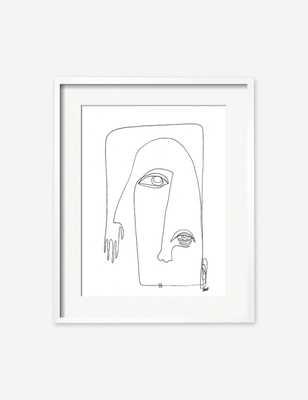 "Picasso Print by Damienne Merlina 11"" x 14"" Unframed - Lulu and Georgia"