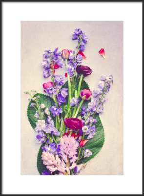 Beautiful Flowers by Olivia Joy StClaire for Artfully Walls - Artfully Walls