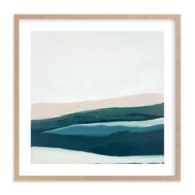 Seascape At Dusk Art Print - Minted